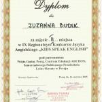 Konkurs z j. angielskiego